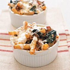 #Recipe: Lasagna-Style Baked Ziti