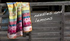 needles and lemons - quilts and fabric