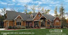 Amicalola Cottage House Plan # 05168, Front Elevation, Mountain Style House Plans, Craftsman Style House Plans