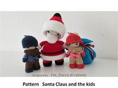 Fia, fiocco di cotone: Santa Claus and the kids