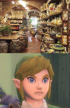 Link has found Heaven...