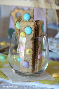 Cookie sticks (yum!!)