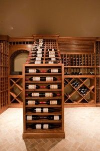 Wine rack build-in