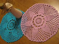 Crochet Galore: April Showers Doily - Free Pattern