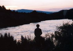 Colorado River, Colorado  Sunrise.