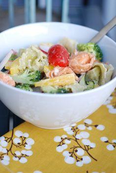Tortellini Salad - Mini Manor Blog