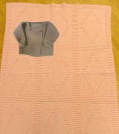 Passap Tucker Board Tuck Stitch Reversible Baby Blanket