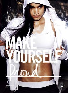 Sofia Boutella, Nike Women, Make Yourself Campaign