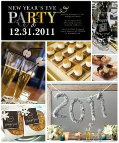 new year's eve party ideas | New Year's Eve party ideas | New years eve party