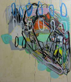 "Saatchi Online Artist Karl Bielik; Painting, ""Sliced"""