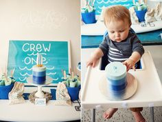 beach themed first birthday brunch