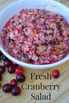 Fresh Cranberry Sala