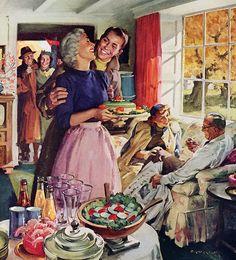 Plan59 :: 1950s Illustration :: Haddon Sundblom, 1954