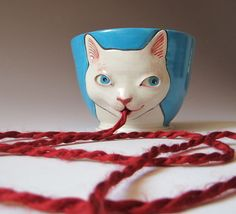 Yarn Bowl! LOVE.