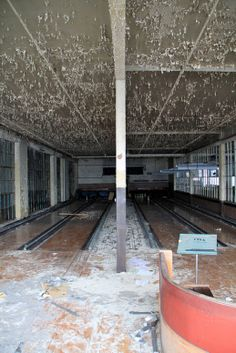 abandoned bowling alleys
