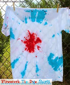 Firework Tie Dye Shirts
