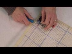 Learn How To Latch Hook - Mary Maxim