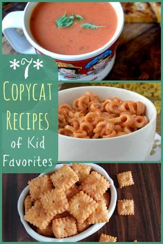 Put down that powdered cheese packet and try these healthy copycat recipes of kid favorites!