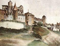 Page: The Castle at Trento Artist: Albrecht Durer Completion Date: 1495