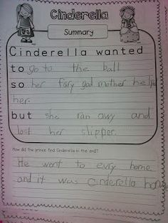 Fairy Tales Unit is excellent: comparing and summarizing