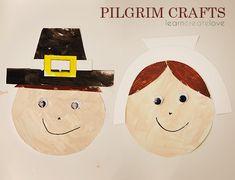 { Printable Pilgrim Crafts }