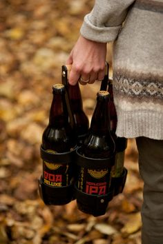 Perfect for the home brewer or craft beer drinker - (4) 22oz bottles