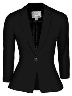 fashion, blue blazer, black blazer, busi cloth, dynamit, blue peplum, blazers, blues, peplum blazer