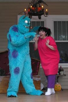 Halloween Costumes On Pinterest Halloween Costumes : sully costume adults  - Germanpascual.Com