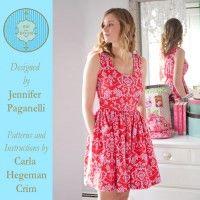 Angie Dress - Size 0-3X Downloadable Pattern | Martha Pullen