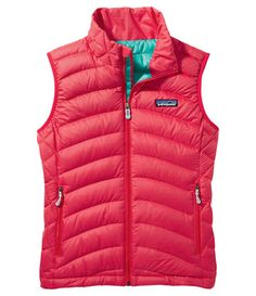 Patagonia daily down vest in Maraschino - LOVE it!