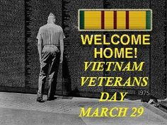 .Welcome home Viet Nam Vets
