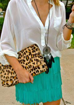Leopard & Fringe