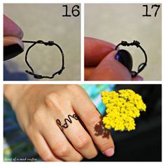 """LOVE THIS!!!! """"Love"""" Ring How To"""