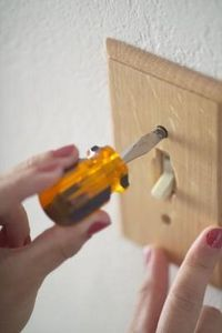 How to Refinish Light Switch Plates