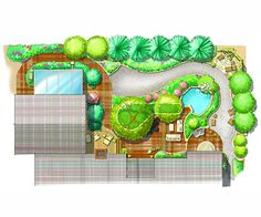 Cozy Landscape Plan