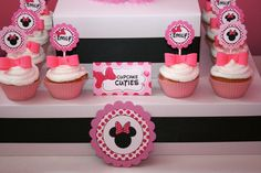 Minnie Theme - Cup Cakes