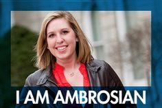 Hi. My name is Emilee Renwock and I am Ambrosian.