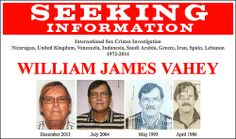 William James Vahey poster screen capture The FBI is asking for the public's help to identify victims of a suspected serial child predator who taught in private American schools overseas in nine different countries beginning in 1972 and whose young victims—believed to be boys between the ages of 12 and 14—may be unaware of what happened to them.