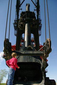 Big Brutus - The World's Largest Electronic Shovel