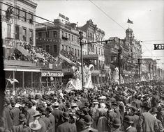 Mardi Gras, New Orleans, ca. 1900