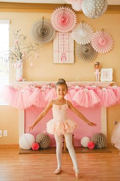 Adorable Tiny Dancer Ballerina Birthday Party
