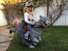 Hoth Luke + Tauntaun Halloween Costume | Flickr - Photo Sharing!