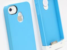 Keep the base case on your iPhone, then slide on the modular battery pack to double the life or charge up from empty.