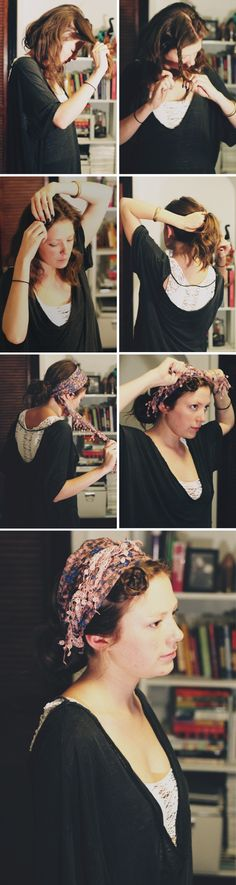 3 Scarf Hairstyles We Love & How To Do Them! - Free People Blog