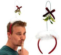 gift, mistleto accessori, odd product, cant, funni thing, brought mistleto, mistleto headband, headbands, christma