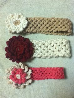 Free Crochet Stretchy Headband Pattern : Crochet Headbands on Pinterest Headband Pattern, Ear ...