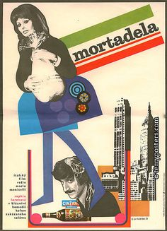 mortadela movie poster #poster # movie #sofialoren
