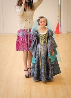 make me studio: Renaissance Princess Costume