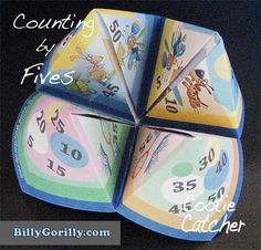 Teaching Kids How to Count by Fives
