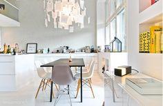 Luminoso loft finlandés